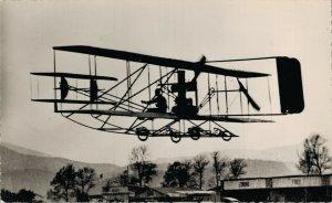 Aviation 1910 Le Bipian Wright de Baratoux Airplane RPPC 07.30