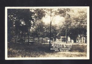RPPC KITTANNING PENNSYLVANIA BUTLER PA. ZILLY'S GROVE REAL PHOTO POSTCARD CARS