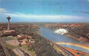 Canada Ontario Niagara Falls General view Panorama Bridge