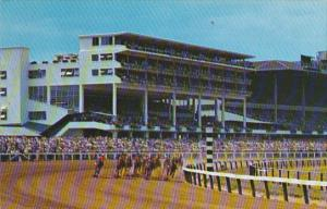 Horse Racing Clubhouse Turn Monmouth Park Oceanport New Jersey