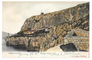 Gibraltar Europa Point Vintage V B Cumbo Color Postcard