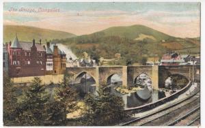 Denbighshire; Llangollen, The Bridge PPC By Valentines, c 1910's, Unposted