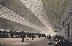 Union Station Concourse Washington DC 1910