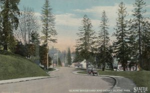SEATTLE, Washington, 1900-10s; Blaine Boulevard and Denny Blaine Park