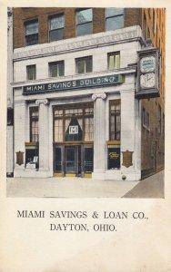 DAYTON , Ohio , 00-10s ; Miami Savings & Loan Co. (Bank)