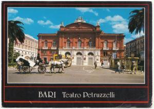 BARI, Italy, Teatro Petruzzelli, unused Postcard