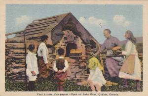 Open air Bake oven , Quebec , PU-1937