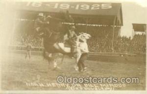 Bill McAdoo Western Cowboy, Cowgirl Postcard Postcards  Bill McAdoo