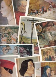 Lot 16 pcs 15th Century Art Paintings book folder Russia