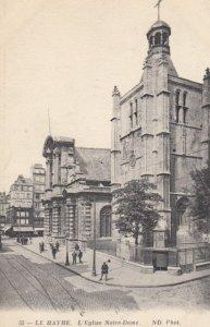 LE HAVRE, France, 1910-1920s, L'Eglise Notre-Dame