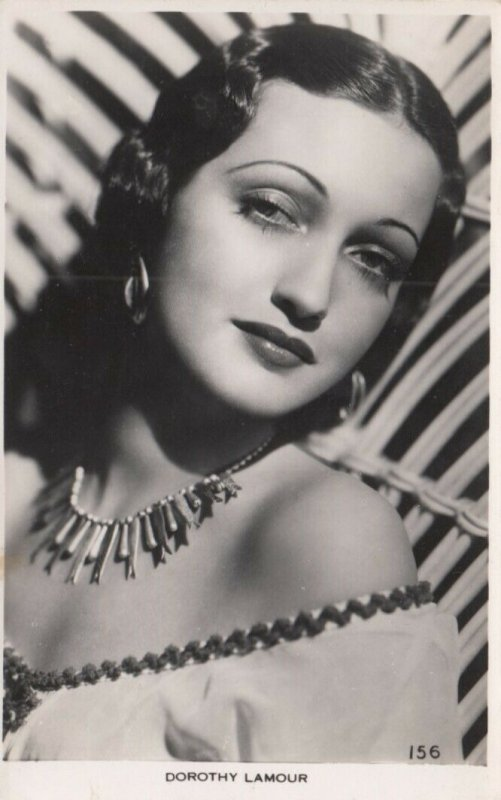 RP: Actress Dorothy Lamour , 40-50s