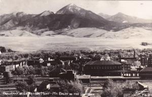 RP: Panorama , Mt Baldy & Livingston , MT ,1950s ; SANBORN Y-1676