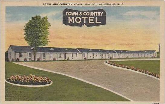 South Carolina Allendale Town And Country Motel
