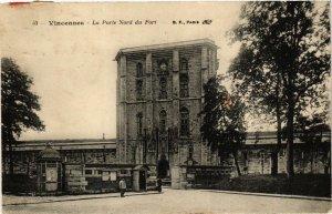 CPA AK VINCENNES La Pole Nord du Fort (672206)