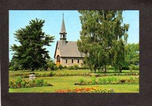 NS Evangeline Church of St Charles Grand Pre Nova Scotia Carte Postale Canada