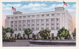 Exterior,  United States Court House,  Fort Worth,  Texas,  30-40s