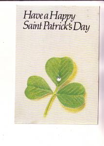 Have a Happy St Patrick's Day, Postal Stationery From Ireland