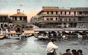 Rue du Commerce Port Said Egypt, Egypte, Africa Unused