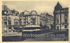Reims, France, Carte, Postcard Place Myron T Herrick  Place Myron T Herrick