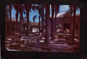 FL Palm Garden Restaurant Dining Patio Largo Florida Postcard