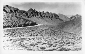 Namak Desert Iran Scenic View Real Photo Postcard J47167