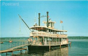 Steamship Chautauqua Belle, Paddle Wheeler, New York, Maryville, Ann M. Smith