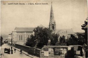 CPA St-PAIR - L'Église Route de GRANVILLE (245684)
