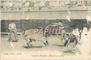 Postcard Old Bulls Race