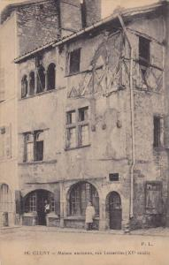 Maison Ancienne, Rue Lamartine (XV Siecle), Cluny (Saône-et-Loire), France, ...