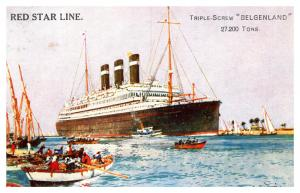 S.S. Belgenland ,  Red Star Line