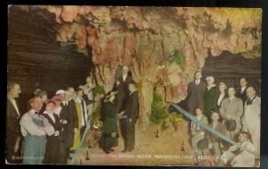 The Bridal Altar Mammoth Cave Kentucky unused c1920