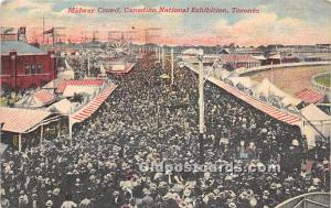 Midway Canal, Canadian National Exhibition Toronto, Canada 1922