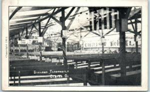1914 Indianapolis Indiana Postcard STEARNS TABERNACLE Interior Rev. F.B. Stearns