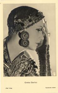 CPA Artiste Cinema Film Greta Garbo ,,Ross Verlag 6522/2 (93479)