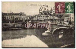 Old Postcard Compiegne New Bridge