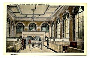 NY -  Fredonia. Citizens Trust Building, Interior