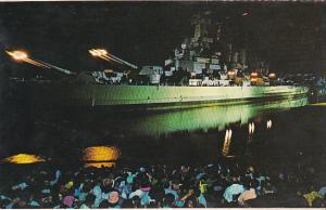 Iwo Jima Bombardmwnt U S S North Carolina Battleship Memorial