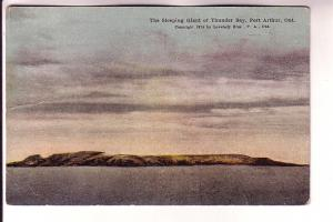 The Sleeping Giant of Thunder Bay, Port Arthur, Ontario, Lovelady Series