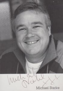 Michael Starke Brookside Hand Signed Photo