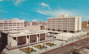 Civic Centre Complex, Winnipeg, Manitoba, Canada, 40-60s
