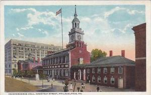 Pennsylvania Philadelphia Independence Hall Chestnut Street