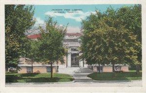 NASHVILLE, Tennessee, 1910-20s; Jackson Free Library
