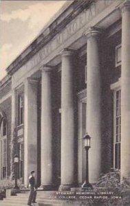 Iowa Cedar Rapids Stewart Memorial Library Coe College Artvue