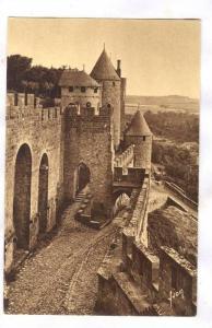 The Cite, South-West Face, Carcassonne (Aude), France, 1900-1910s