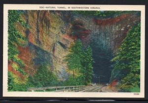 Virginia colour PC Natural Tunnel Southwestern Va unused