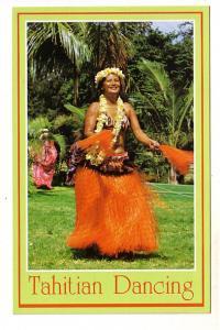 Beautiful Woman Closeup, Tahitian Dancing, Waikiki Beach, Hawaii,