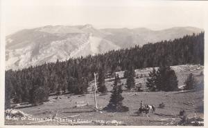 RP; At top of Cattle Trail, Eaton's Ranch, WOLF, Wyoming, 1920s