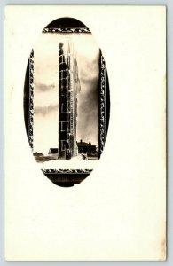 Gordon Nebraska?~Farming~Very Tall Silo~Icy Water Tower~Tank~c1910 RPPC