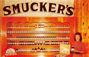 Orrville Ohio Smucker Co Display Vintage Postcard J77811