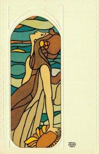 Art Nouveau Raphael Kirchner Woman 04.91